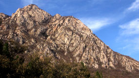 Songshan (le mont Song) Photographie stock libre de droits