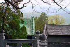Songshan Zhong Yue Temple foto de archivo libre de regalías