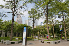Songshou square park Royalty Free Stock Photos