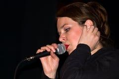 Songstress Lizenzfreie Stockfotografie