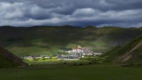 SongtsamLin monastery. Bigest monastery in Yunnan province,China Stock Image