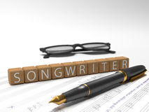 Songwriter Stock Photography