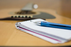 Songwriting Stock Images