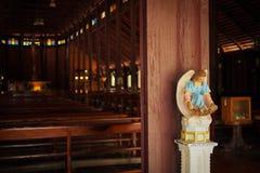 Songyae church. Wooden church at yasothon provice Stock Image
