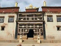 Songzanlin喇嘛寺院 库存图片