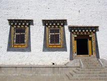 Songzanlin喇嘛西藏寺庙在Zhongdian或上栗La城市 图库摄影