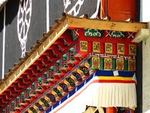 Songzanlin喇嘛西藏寺庙在Zhongdian或上栗La城市 库存图片