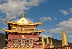 Songzanlin西藏修道院, shangrila,瓷 免版税库存图片