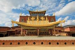 Songzanlin西藏修道院, shangrila,瓷 库存图片