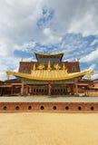 Songzanlin西藏修道院, shangrila,瓷 免版税库存照片