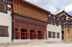 Songzanlin kloster Zhongdian, Kina Royaltyfria Bilder