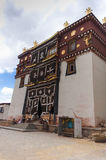 Songzanlin kloster Zhongdian, Kina Arkivbild