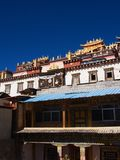 Songzanlin Lama Tibetan Temple in Zhongdian or Shangli La City. Travel in Zhongdian City , Yunnan Province, China in 2012, November 15th Stock Photo