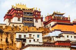 Songzanlin Lamasery of Yunnan Royalty Free Stock Photo