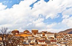 Songzanlin Lamasery of Yunnan Stock Image