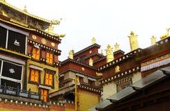 Songzanlin Lamassery. Located at Shangri-la, Deqin, Yunan, China Stock Photo