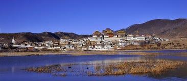 Songzanlin monastery. The Songzanlin tibetan monastery, Shangri-la, Yunnan province, China Stock Photography