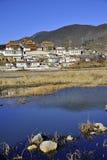Songzanlin monastery. The Songzanlin tibetan monastery, Shangri-la, Yunnan province, China Royalty Free Stock Photos