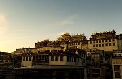 Songzanlin Monastery. In Shangri-la, China Royalty Free Stock Images