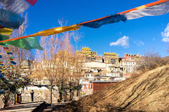 Songzanlin Monastery. In Shangri-la, China Royalty Free Stock Images