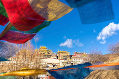 Songzanlin Monastery. In Shangri-la, China Stock Image