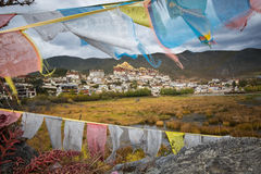 Songzanlin Monastery. Shangri-la County, Yunnan Province, China stock image
