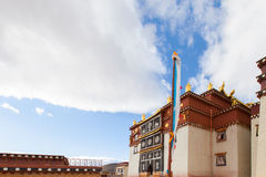 Songzanlin Monastery in Shangrila, China. Songzanlin Monastery in Shangrila, Yunnan, China Royalty Free Stock Photos