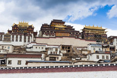 Songzanlin Monastery Zhongdian, China Stock Photography