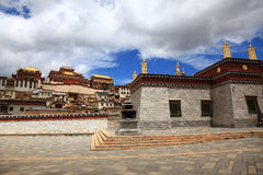 Songzanlin Monastery in Zhongdian, China Royalty Free Stock Photo