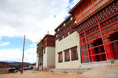Songzanlin Monastery in Zhongdian, China. Songzanlin Monastery in Zhongdian (Shangri-La), Yunnan, China Royalty Free Stock Image