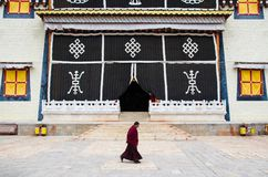 Free Songzanlin Temple Is The Largest Tibetan Buddhism Monastery In Yunnan Province.It Is Called The Little Potala Palace Or Ganden Sum Stock Images - 99857994