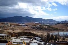 Songzanlin Tibetan Buddhist monastery, Shangri La, Xianggelila, Yunnan Province, China. Songzanlin Tibetan Buddhist monastery, Shangri-la, Xianggelila, Yunnan stock photos