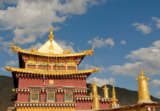 Songzanlin tibetan monastery, shangri-la, china Royalty Free Stock Image