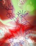 Sonhador da liberdade ilustração stock