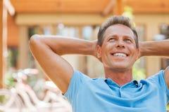 Sonhador feliz do dia Imagens de Stock Royalty Free