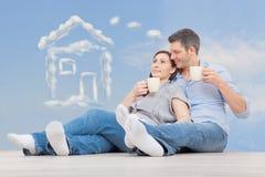 Sonhadores Home Imagens de Stock Royalty Free