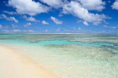 Sonhando Ilhas Cook Foto de Stock