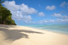 Sonhando Ilhas Cook Fotos de Stock Royalty Free