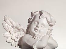 Sonhando o anjo Imagens de Stock Royalty Free