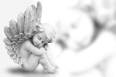 Sonhando o anjo Foto de Stock Royalty Free