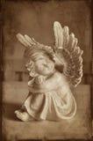 Sonhando o anjo Imagens de Stock