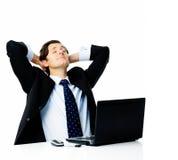 Sonhando o negócio despreocupado Imagens de Stock
