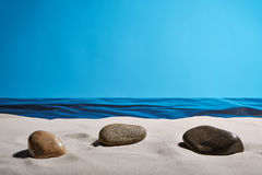 Sonhando a praia Fotografia de Stock