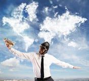 Sonhar tropeça em todo o mundo Imagem de Stock