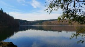 Sonhe o lago Imagens de Stock