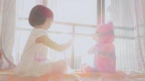 Sonho asiático 4 da criança imagem de stock royalty free