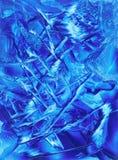 Sonho azul ilustração stock
