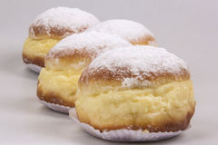 Sonho, Brazilian bakery dream. Brazilian typical sweet. Royalty Free Stock Photo