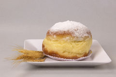 Sonho, Brazilian bakery dream. Brazilian typical sweet. Royalty Free Stock Image