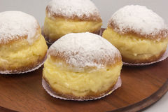 Sonho, Brazilian bakery dream. Brazilian typical sweet. Stock Photo